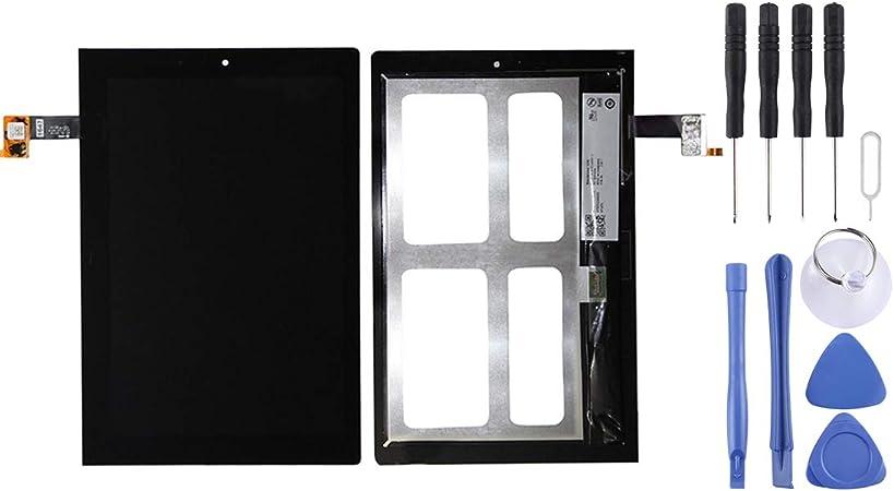YANGCAIBAFACTORY New Screen Replacement Repair Kit Color : Black Black Repair Broken Screen,LCD Screen and Digitizer Total Assembly for Lenovo Yoga Tablet 2//1050 // 1050F // 1050L