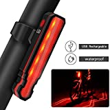 Best Bike Lane Lights - Passionfun Bike Tail Light Rechargeable Bicycle Rear Light Review