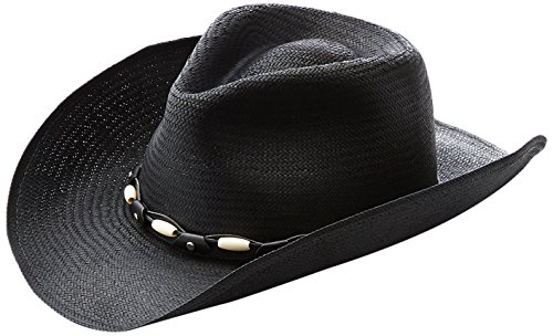 Bailey Western Men's Gallup Western Cowboy Hat, Black, - Hats Bailey Western