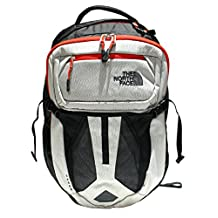 The North Face Recon Backpack, Black / Fiery Red