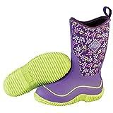 MuckBoots Hale Boot,Purple Frogs,7 M US Big Kid