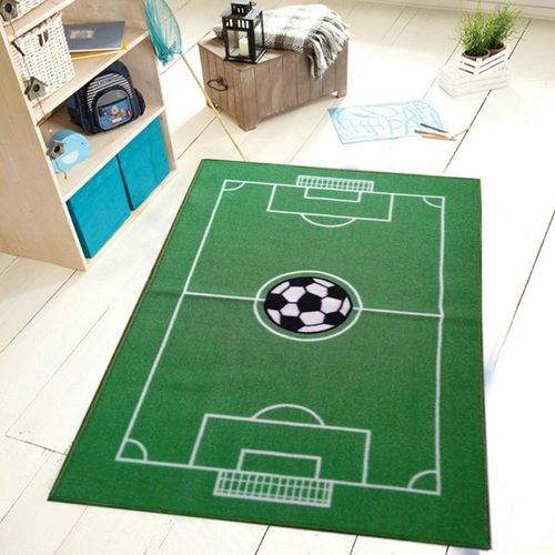 All Stars Soccer Ground Kids Rug, 39