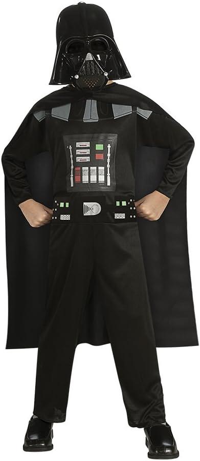 Star Wars - Disfraz de Darth Vader para niño, Talla M infantil 5-7 años (Rubie'S 881660-M)