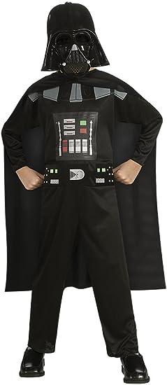 Oferta amazon: Star Wars - Disfraz de Darth Vader para niño, Talla S infantil 3-4 años (Rubie'S 881660-S)