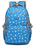Girls Bookbags for Kids Child Elementary School Bags Backpacks Student (Blue 2)
