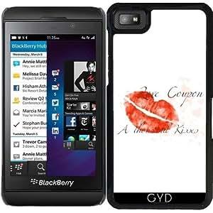 Funda para Blackberry Z10 - Amor Cupón by UtArt