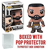Funko Pop! Game of Thrones: GOT - Khal Drogo #04 Vinyl Figure (Bundled with Pop BOX PROTECTOR CASE)
