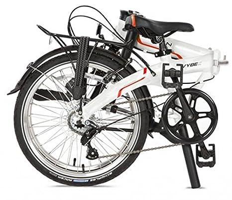 Bicicleta plegable Dahon Vybe D7 20zoll/aluminio/7gang/guardabarros/Frost: Amazon.es: Deportes y aire libre