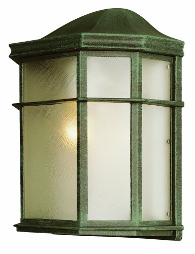 Bel Air Lighting Green Outdoor Lamp