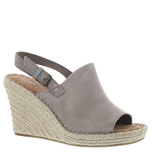 TOMS Women's Monica Desert Taupe Suede 6 B US