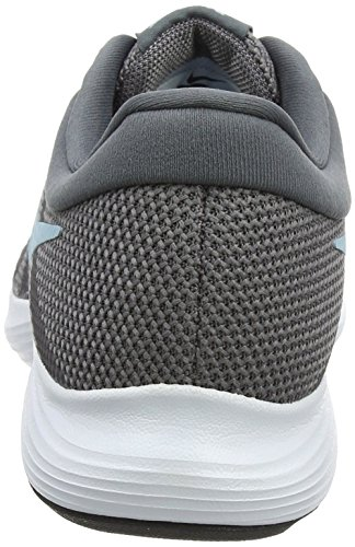 Nike Damen Revolution 4 Laufschuhe, Grau (Gunsmoke/Ocean Bliss/Dark Grey/White/Black 004), 38.5 EU