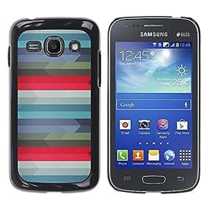 Stuss Case / Funda Carcasa protectora - Patrón Geometría - Samsung Galaxy Ace 3