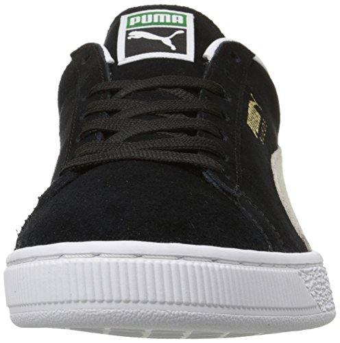for Basses Adulte Mixte White Suede Noir Men Puma Classic Black Noir Sneakers qwp0nXt