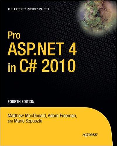 Téléchargements gratuits de livres électroniques mobiles Pro ASP.NET 4 in C# 2010 by Adam Freeman PDF CHM ePub