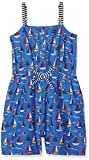 Yumi Girl's Boat Print Playsuit (Bright Blue) Dress, 13-14 Years