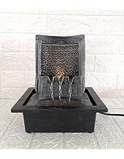 شلال ماء ( نافورة )مصنوع من مادة البولي باضاءة ليد  asl- 5486