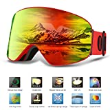 Ski Goggles PRO- BUKELERN Snow Goggles OTG DESIGN - Best Reviews Guide