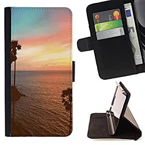 - Summer Story - - Style PU Leather Case Wallet Flip Stand Flap Closure Cover FOR Samsung Galaxy Core Prime - Devil Case -