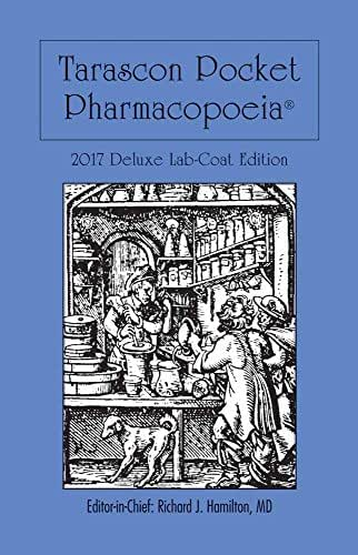 Tarascon Pocket Pharmacopoeia 2017 Deluxe Lab-Coat Edition