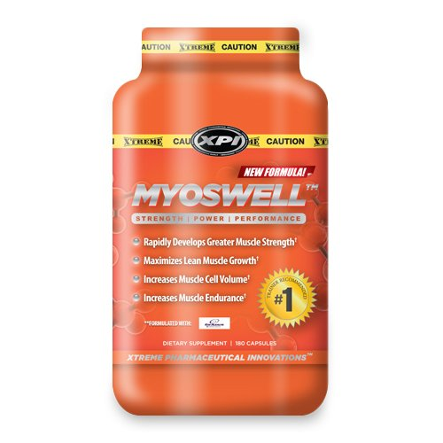 Myoswell - Best Creatine, Kre-alkalyn Creatine, Arginine Ethyl Ester