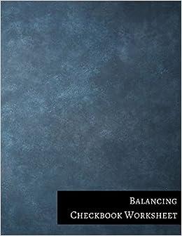 amazon com balancing checkbook worksheet 9781521222195 insignia