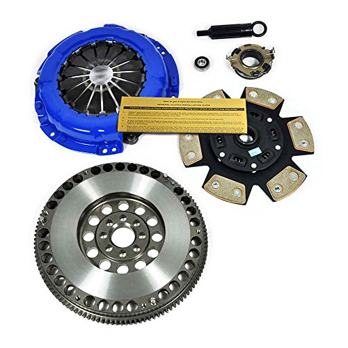 EFT STAGE 3 CLUTCH KIT+CHROMOLY FLYWHEEL FOR TOYOTA CELICA ALL-TRAC TURBO MR-2 3S-GTE