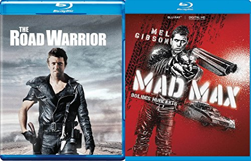 MAD MAD MELLIE MEL: Mad Max & The Road Warrior 2 Movie BLU-RAY Bundle (Spider Man Homecoming Special Edition Blu Ray)