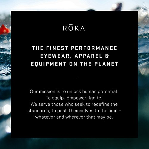 ROKA Maverick Comp II Men's Wetsuit for Swimming and Triathlons - Black/Cyan - Small (S) by ROKA (Image #5)