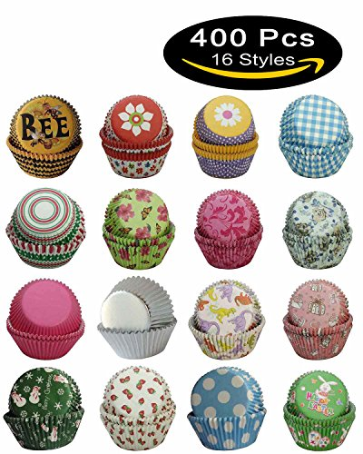 16 Style Cupcake & Muffin Liners