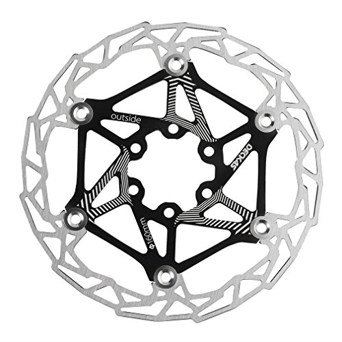 CLKjdz DECKAS MTB Mountain Bike Bicycle Brake Disc Float Pads 160mm 6 Bolt Rotors by CLKjdz