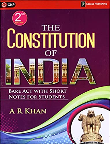 Indian Constitution Bare Act Pdf