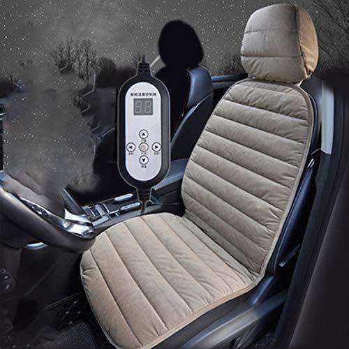 HEIFEN Car Seat Cushion Heating Pad Car 12V Electric Seat Cushion Universal Non-Slip Warm SUV Car Mat Driver Seat Cushion one, Pieces