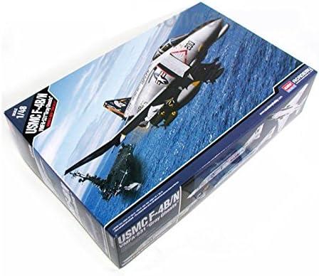 "Academy 1/48 Usmc F-4B/N Vmfa-531 ""Gray Ghosts"" Plasti Model Kit Airplane #12315"