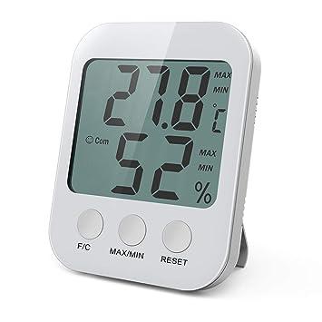 brifit digital room thermometer, indoor hygrometer amazon co ukbrifit digital room thermometer, indoor hygrometer thermometer with large lcd screen, humidity guage,
