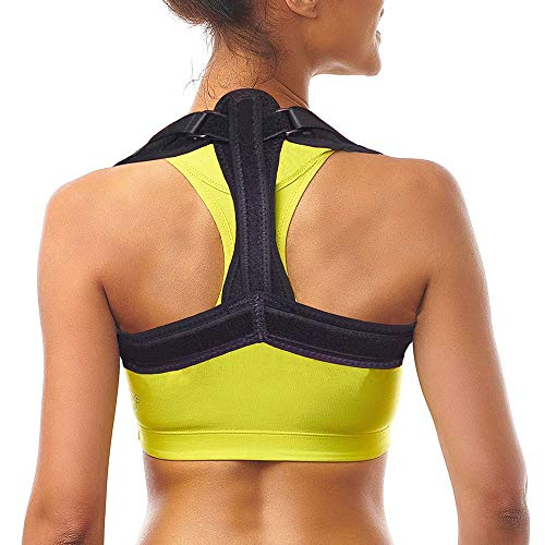 Back Braces for Lower Back Pain for Women & Men - Adjustable Back Brace to Improve Posture - Effective and Comfortable Posture Brace for Slouching & Hunching (type1)