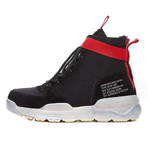 Match GUNAINDMXHigh White Spring All Shoes black New Hop Hip Shoes Sports Forty qwOr7Yq