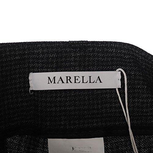 Marella - Pantalón - para mujer Negro Y Gris