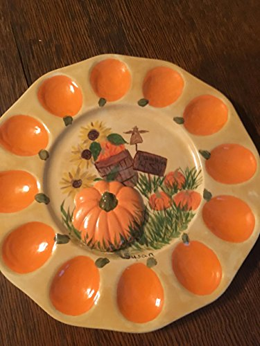 thanksgiving deviled egg plate - 4