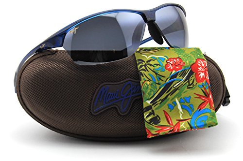 Maui Jim 426-03 HOT SANDS Blue Frame / Polarized NEUTRAL GREY - Discount Jim Maui