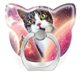 Pop Phone Ring Stand Holder 360°Rotation Reusable Ring Holder Finger Grip Universal socket Kickstand for All Cellphones Space Cats LOL Funny