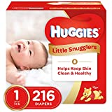 Health & Personal Care : Huggies Little Snugglers Diapers - Size 1 - 216 ct