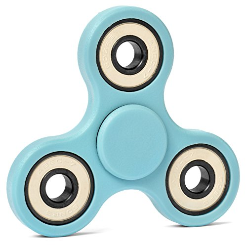 Fidget Gadget - EDC Fidget Spinner For Adults & Kids - Incredibly Smooth Consistent Spins - Quietly Relieve Anxious & Bored Energy - Perfect Fidget Toy for the Classroom - Non 3D