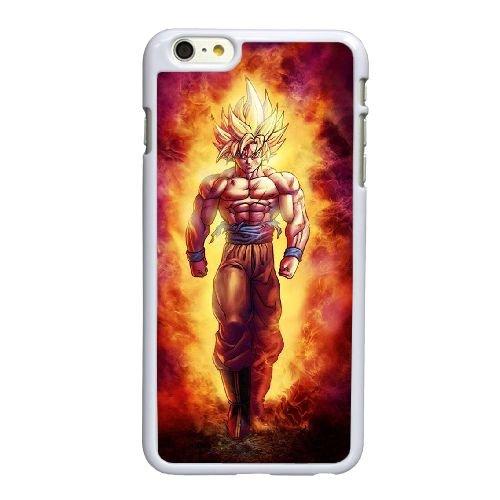 E4Y56 Dragon Ball N6B8KV coque iPhone 6 4.7 pouces Cas de couverture de téléphone portable coque blanche KJ8NDW8SV