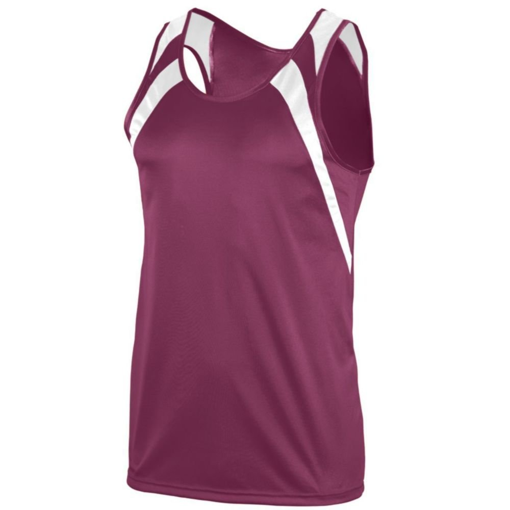 Boys Augusta Activewear Wicking Tank with Shoulder Insert