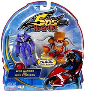 yu-gi-oh YuGiOh 5Ds Playmates 2.5 Inch Mini Figure 2-Pack Junk Warrior and Junk Synchron: Amazon.es: Juguetes y juegos
