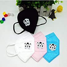 8PCS Cartoon Cute PM2.5 Anti-Dust Mouth Face Mask for Kids Disposable Non-Woven Fabric Masks With Respiration Valve (8PC Tiger)