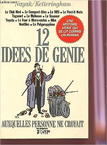 12 Idees De Genie Auxquelles Personne Ne Croyait 9782876910140 Amazon Com Books