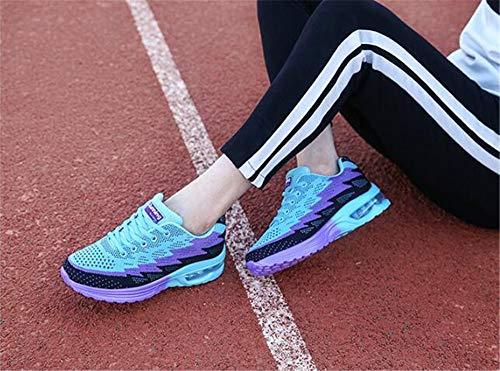 Shoes Sneakers Flat Purple c Men's Walking excellent Lightweight 08 Shoes xEqw0tBn68