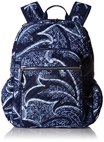 Vera Bradley Iconic Campus Backpack, Signature Cotton, Indio by Vera Bradley