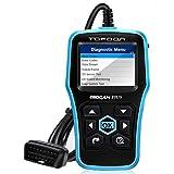 Topdon Car Engine Fault Code Reader Universal OBD2 Scanner Car Computer Diagnostic Scan Tool with...